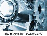 titanium gears  werospace... | Shutterstock . vector #102392170