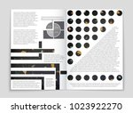 abstract vector layout... | Shutterstock .eps vector #1023922270
