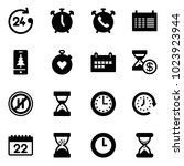 solid vector icon set   24... | Shutterstock .eps vector #1023923944