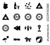 solid vector icon set  ...   Shutterstock .eps vector #1023930388