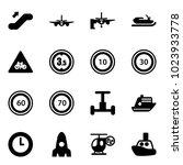 solid vector icon set  ...   Shutterstock .eps vector #1023933778