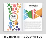 abstract vector layout... | Shutterstock .eps vector #1023946528