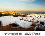 panorama of the coast of egypt... | Shutterstock . vector #102397066