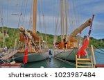 saint paul parish   antigua and ... | Shutterstock . vector #1023987484