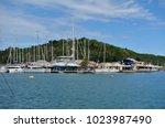 saint paul parish   antigua and ... | Shutterstock . vector #1023987490