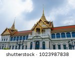 grand palace in bangkok  one of ... | Shutterstock . vector #1023987838