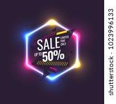 best sale banner. original... | Shutterstock .eps vector #1023996133