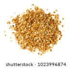 granola isolated on white | Shutterstock . vector #1023996874