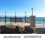 bench by the sea | Shutterstock . vector #1024004923