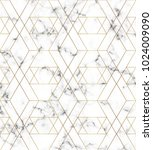 white marble texture with gold... | Shutterstock .eps vector #1024009090