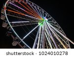 pigeon forge tennessee ferris... | Shutterstock . vector #1024010278