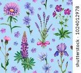 watercolor illustrations of... | Shutterstock . vector #1024012978