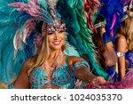 port of spain  trinidad  ... | Shutterstock . vector #1024035370