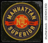 vintage varsity graphics and... | Shutterstock .eps vector #1024041550