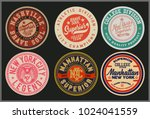 vintage varsity graphics and... | Shutterstock .eps vector #1024041559