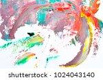 colorful abstract background... | Shutterstock . vector #1024043140