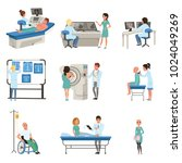 diagnostic and treatment of... | Shutterstock .eps vector #1024049269
