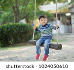 children  little boy playing... | Shutterstock . vector #1024050610