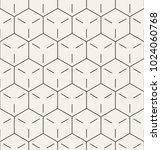 vector seamless pattern. modern ... | Shutterstock .eps vector #1024060768