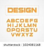 geometric minimalist... | Shutterstock .eps vector #1024081168