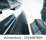 tall buildings in perspective | Shutterstock . vector #1024087834