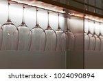 wineglass storage in modern... | Shutterstock . vector #1024090894