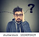 young hipster man having... | Shutterstock . vector #1024093429