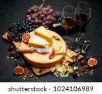 whole round head of parmesan or ...   Shutterstock . vector #1024106989