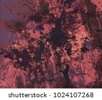 abstract painting. ink handmade ... | Shutterstock . vector #1024107268