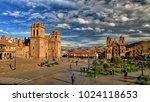 cusco   peru   10 15 2013  ...   Shutterstock . vector #1024118653