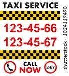 business taxi service design... | Shutterstock .eps vector #1024119490