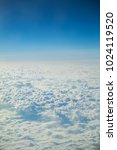 top view of the sky and clouds... | Shutterstock . vector #1024119520