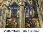 milan  italy   december 30 ... | Shutterstock . vector #1024123060