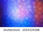 light blue  red vector...   Shutterstock .eps vector #1024124188