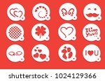 love stencils art | Shutterstock .eps vector #1024129366