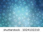 light blue vector pattern with...   Shutterstock .eps vector #1024132210