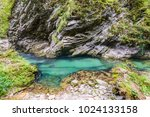 mountain river with beautiful... | Shutterstock . vector #1024133158