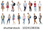 youth lifestyle concept.... | Shutterstock . vector #1024138336