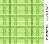 vector seamless green tartan...   Shutterstock .eps vector #1024157644