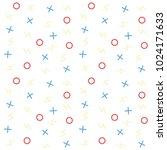 vector seamless pattern. modern ... | Shutterstock .eps vector #1024171633