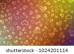 light multicolor vector...   Shutterstock .eps vector #1024201114