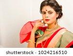 beautiful indian female model...