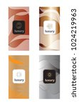 luxury packaging design set... | Shutterstock .eps vector #1024219963