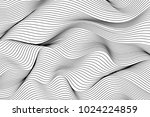 wave lines pattern abstract... | Shutterstock .eps vector #1024224859