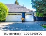 garage door in vancouver ... | Shutterstock . vector #1024240600