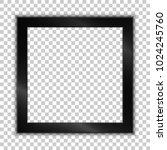 elegant black metilic frame... | Shutterstock .eps vector #1024245760