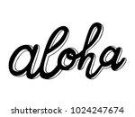 hand sketched lettering... | Shutterstock .eps vector #1024247674