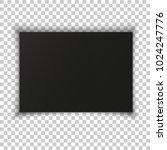 a4 format blank paper. vector... | Shutterstock .eps vector #1024247776