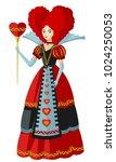 alice in wonderland classic...   Shutterstock .eps vector #1024250053