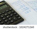 tax calculation or financial... | Shutterstock . vector #1024271260